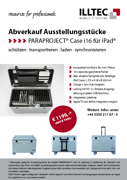 Aktionsblatt Paraproject Case i16